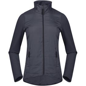 Bergans W's Stranda Hybrid Jacket Dark Navy/Dark Navy Mel/Dark Fogblue